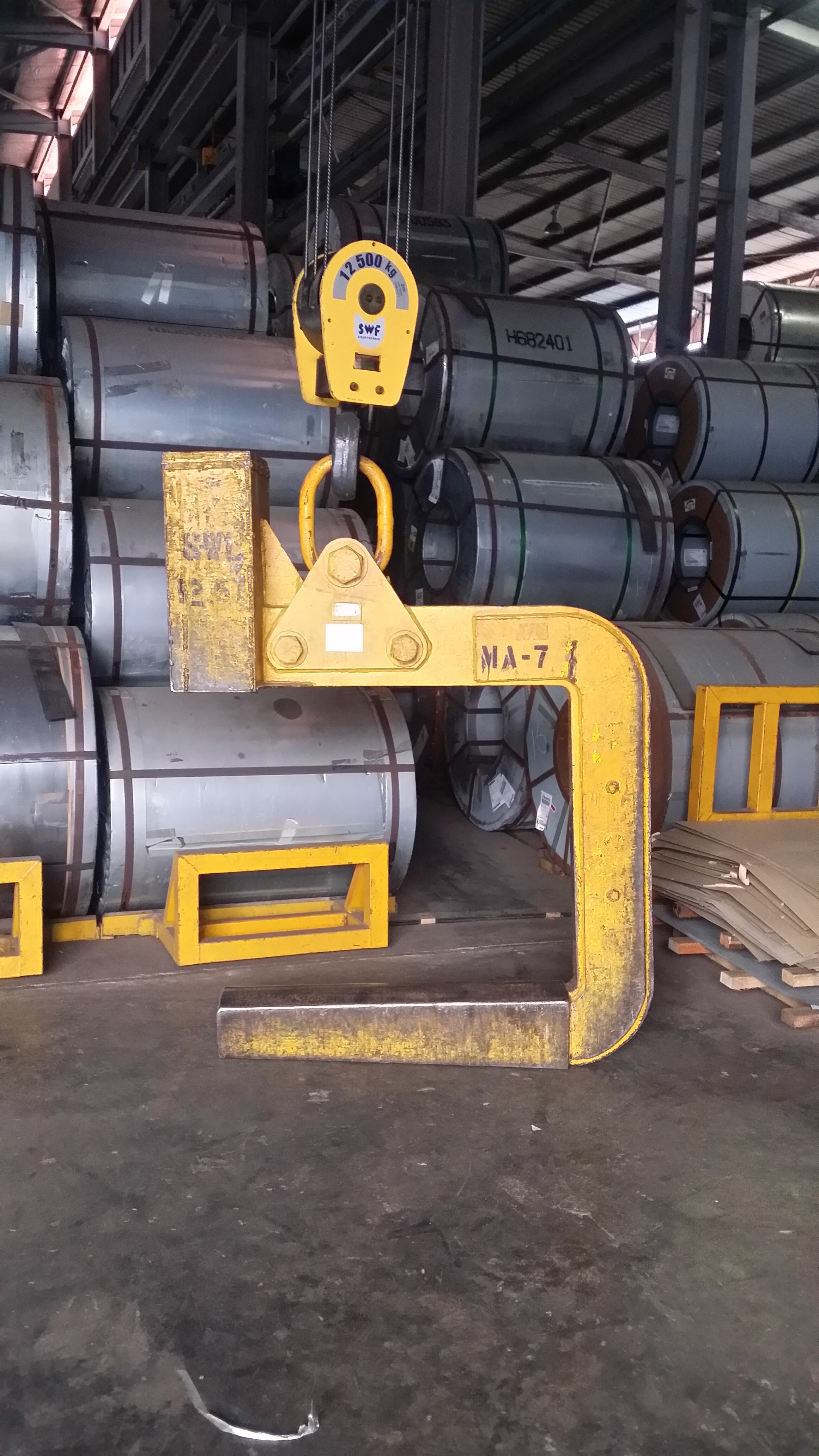 C Hook Coil Lifter Helmsion Engineering