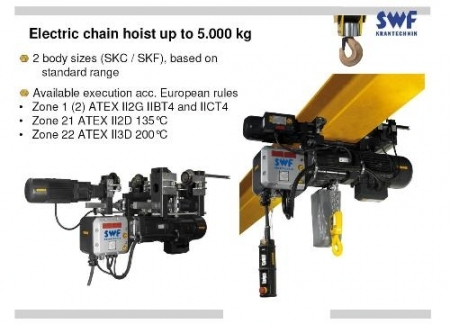 Explosion Proof Hoist Crane Singapore