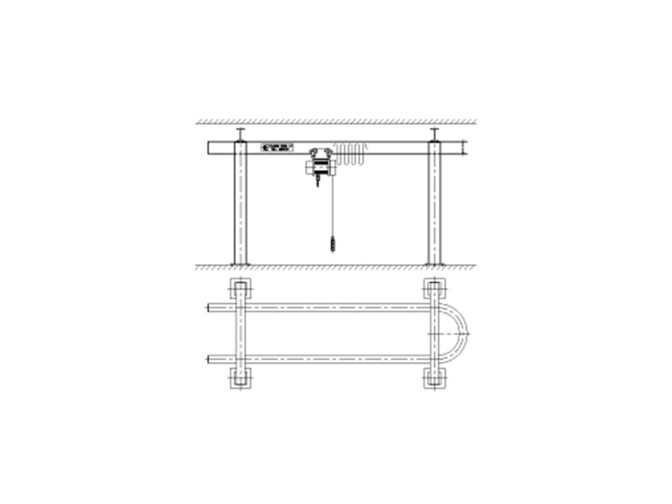Monorail Hoist Crane System